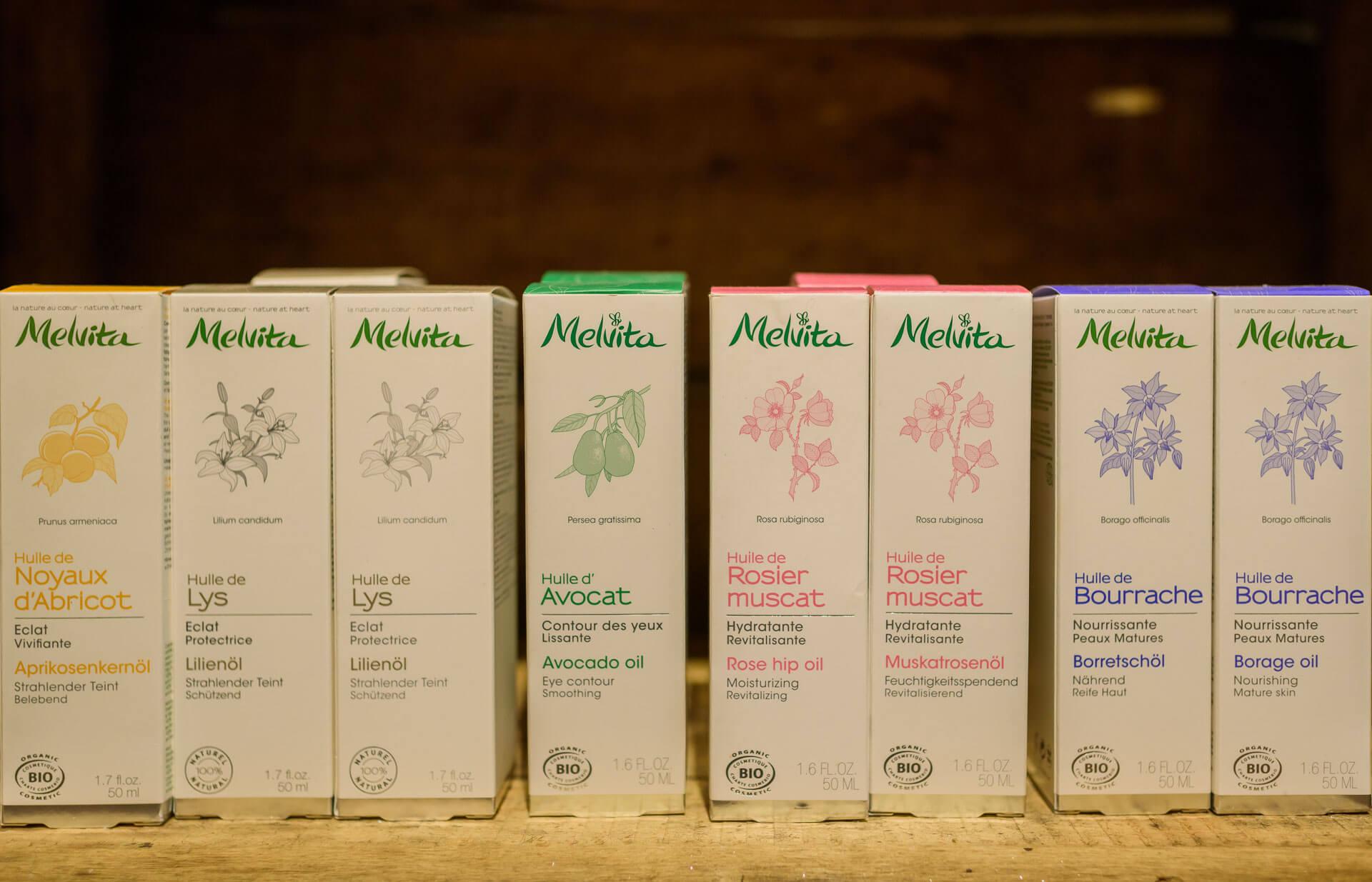 Huiles végétales Melvita Gap