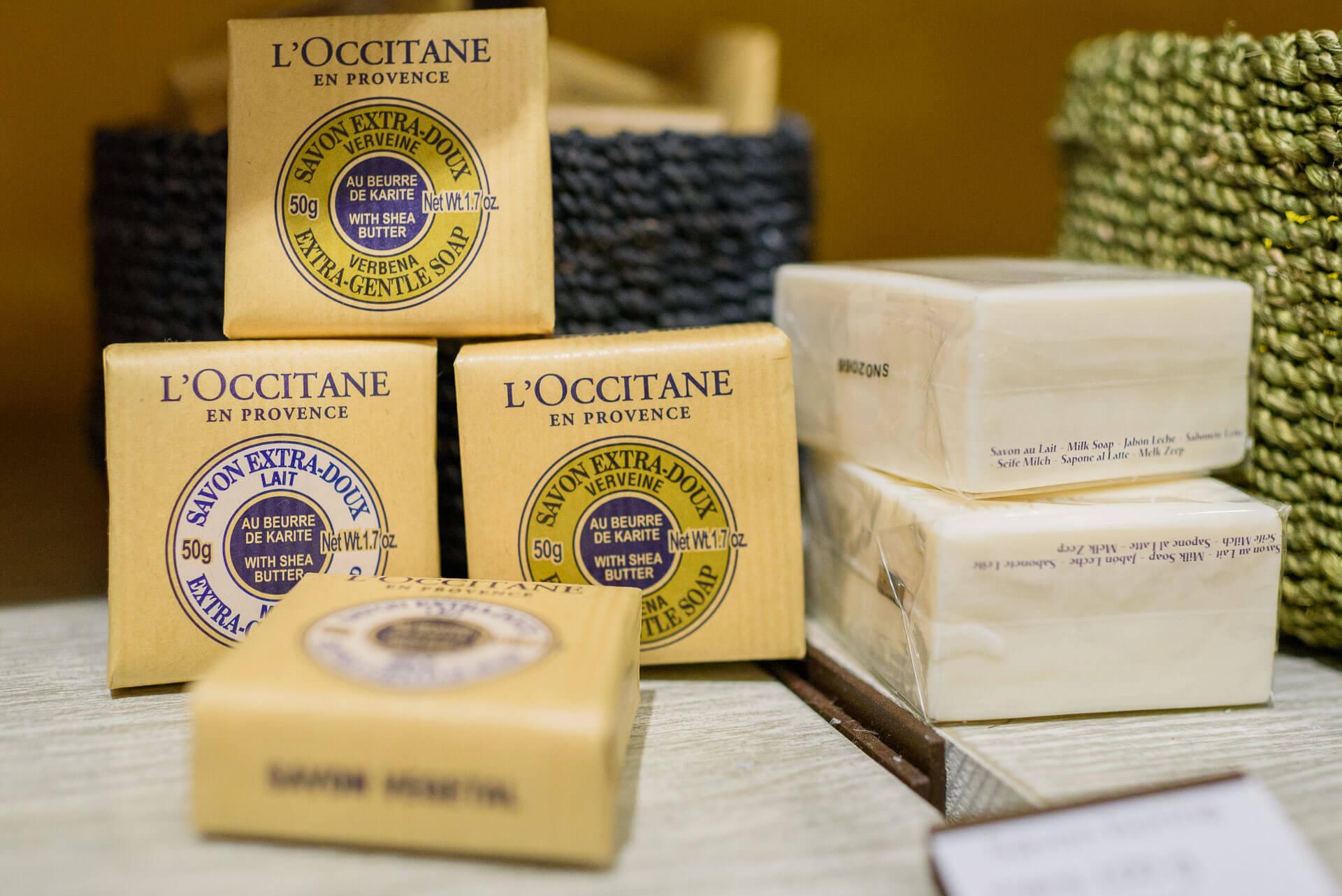 Savon verneine lait L'occitane en Provence Gap